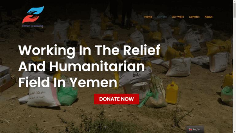 Yemen Starving ONG